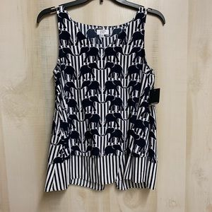 ✨3 for 20✨NWT Crown and Ivy Elephant Tank Size XS